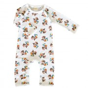 Camping Bear Boys Romper - Size 3-6 months (00)