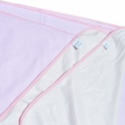 Plain Pure Bamboo Waterproof Changing Pad - Pink